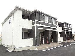 愛媛県伊予郡砥部町重光の賃貸アパートの外観