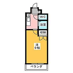 コンホール千種[7階]の間取り
