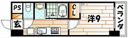 LE GRAND BLEU TROIS(グランブルートロワ)[2階]の間取り