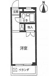 東京都足立区梅田1丁目の賃貸マンションの間取り