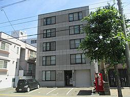 北海道札幌市東区北三十三条東16丁目の賃貸マンションの外観