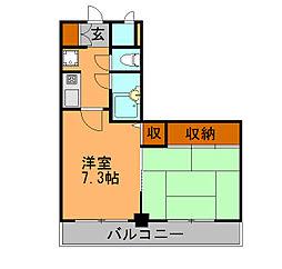 ライオンズマンション井尻東[4階]の間取り