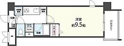 メゾンクレールIII[602号室号室]の間取り