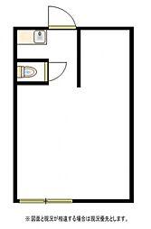 グリーンハイツ小田野[1階]の間取り