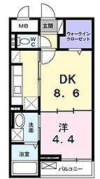 モヤ・クーチャ[1階]の間取り