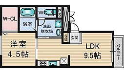 Red House West[2階]の間取り
