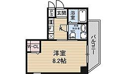 LEON新大阪[6階]の間取り