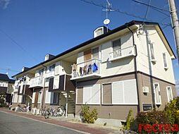 兵庫県伊丹市中野北1丁目の賃貸アパートの外観