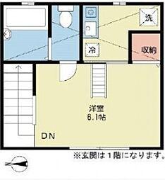 プロテージ東中野[201号室号室]の間取り