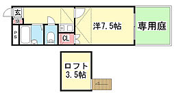 三木ハウス[2階]の間取り