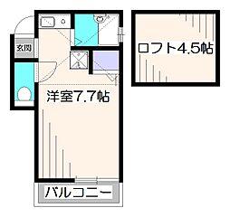 リビング・栄[1階]の間取り