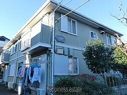コーポラス小川高根[1階]の外観
