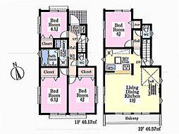 一戸建て(所沢駅から徒歩17分、92.74m²、3,690万円)