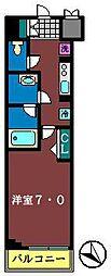 N-STAGE下総中山[215号室]の間取り