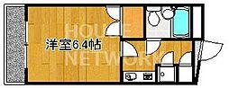 マナーハウス[B-308号室号室]の間取り