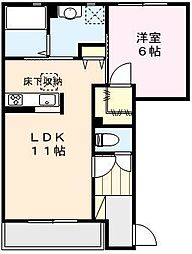 Maison K[1階]の間取り