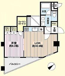 ベルジュール中神4階 中神駅歩4分