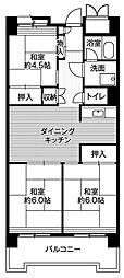 東京都品川区八潮5丁目の賃貸マンションの間取り