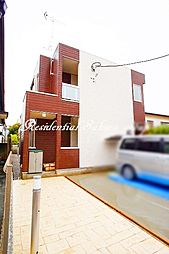 神奈川県鎌倉市由比ガ浜1丁目の賃貸アパートの外観