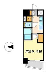 プレサンスSAKAEリバースタイル[12階]の間取り