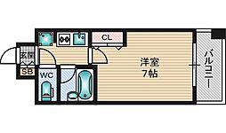 エスリード新大阪第8[9階]の間取り