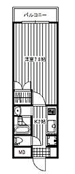 ステラ西日暮里[3階]の間取り