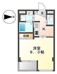 キアーズ II[6階]の間取り