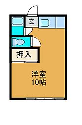東林ハイツ[2階]の間取り