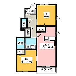 西小坂井駅 5.4万円