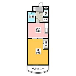 ハイム・コターナ[2階]の間取り