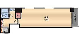 エクセランス梅田西[2階]の間取り