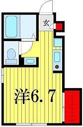 (仮)D-room高砂3丁目[1階]の間取り