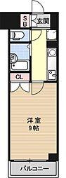 パインフィールド壬生[S414号室号室]の間取り