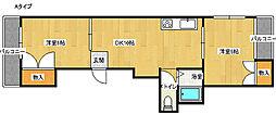 メゾンエクセラー[2階]の間取り