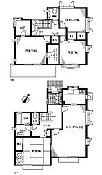 [一戸建] 埼玉県さいたま市緑区宮本2丁目 の賃貸【/】の間取り