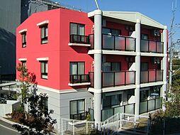 神奈川県横浜市緑区長津田1丁目の賃貸マンションの外観