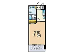 ファシール薬院[3階]の間取り