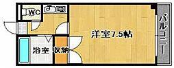 ハイツキシダ[207号室]の間取り