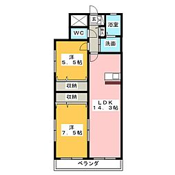 SOARII[5階]の間取り