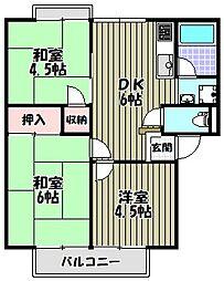 ハイムファミール[2階]の間取り