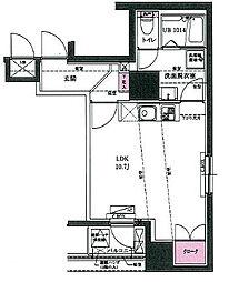 ユニーブル田端新町[803号室]の間取り