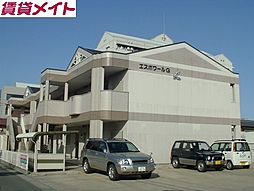 三重県四日市市城東町の賃貸アパートの外観