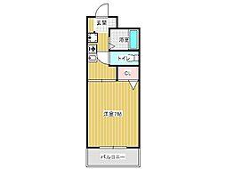インペリアル伊川谷[4階]の間取り