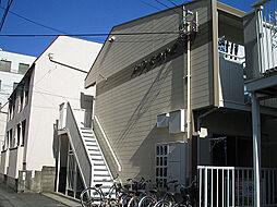 愛媛県松山市宮田町の賃貸アパートの外観