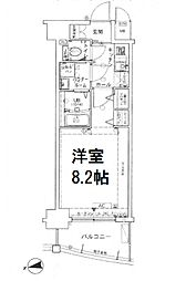サムティ中之島WEST[9階]の間取り