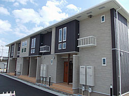 兵庫県加古郡稲美町の賃貸アパートの外観