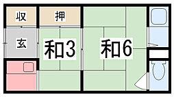 手柄駅 2.5万円