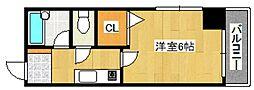 セレーノ井田[803号室号室]の間取り