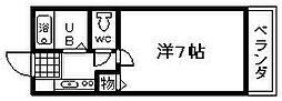 ロジュマン海塚2[303号室]の間取り