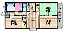 ファミーユK・A・YII[3階]の間取り